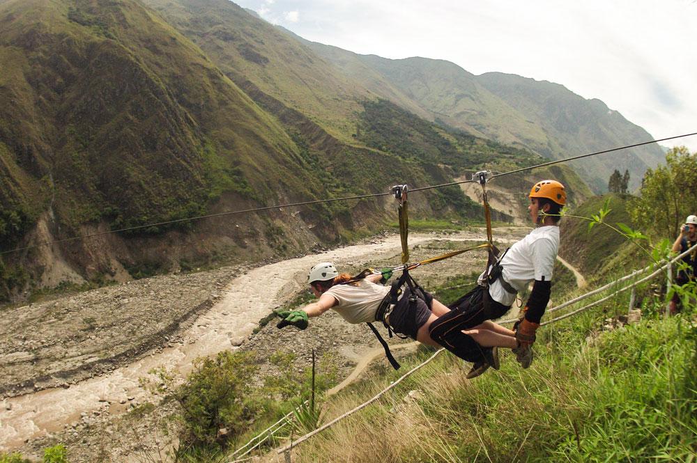 Zip Line Inca Jungle Trek Machu Picchu 4 Days